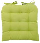 vanki Soft Chair Cushion / Pad - 36cm x 36cm , Green