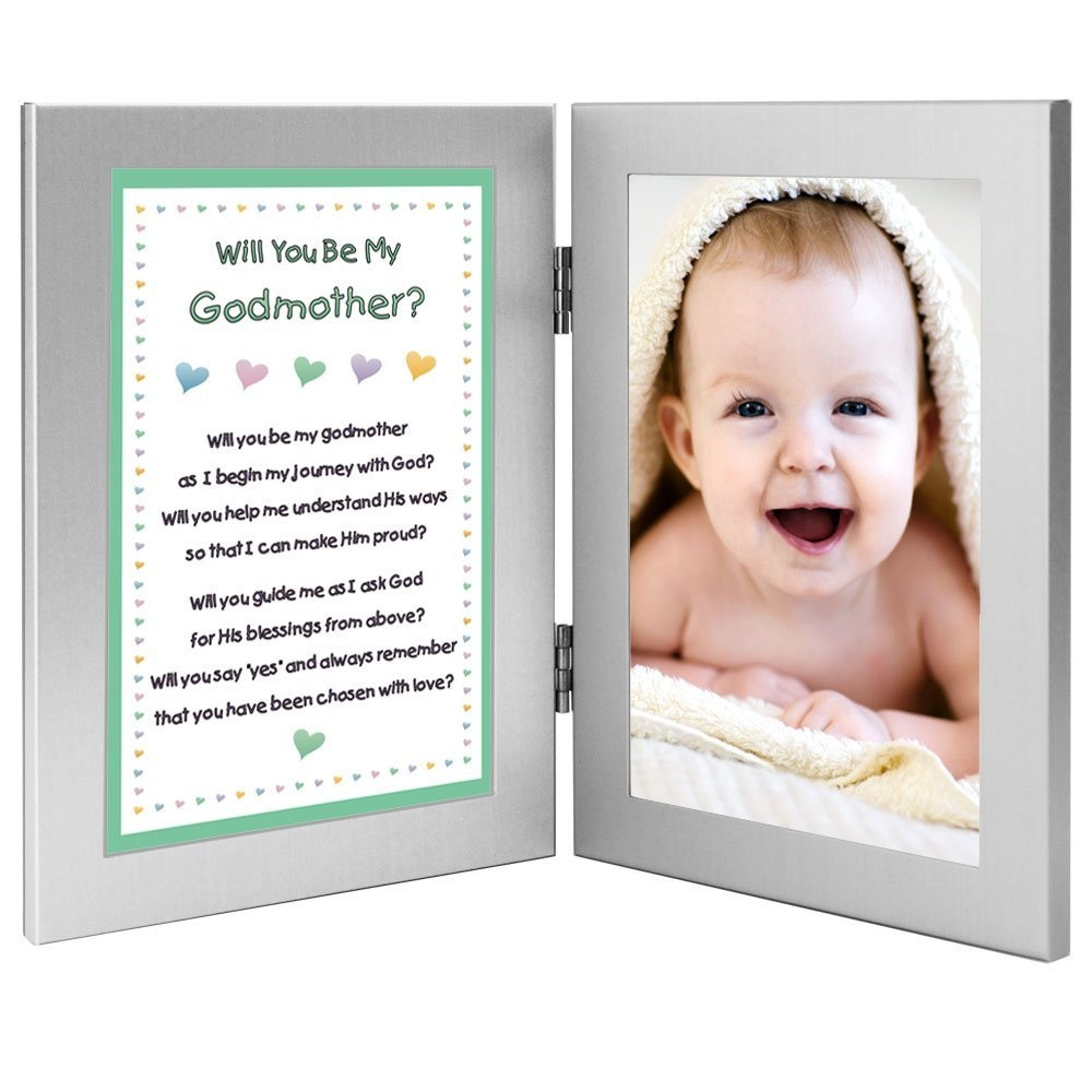 Will You Be My Godmother. Keepsake Frame - Add Baby Photo by Poetry ...
