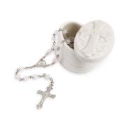 Nat and Jules Trinket Box and Rosary