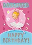 Ballet (Daughter) - Happy Birthday Card-Book