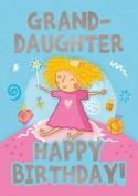 Fairies (Granddaughter) - Happy Birthday Card-Book