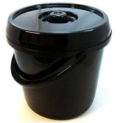 14L Bucket With Lid Ideal Camping Toilet, Nappy Bin