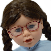 Pack of 3 Doll Glasses for 46cm Dolls