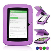 ACdream LeapFrog Epic Case, High Quality PU Leather Cover Case for LeapFrog Epic 18cm Android-based Kids Tablet 16GB (NOT FIT other device), Purple