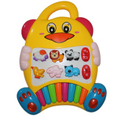 Best New Educational Baby Piano Toy. Play Musical Activity Centre Learning Zoo Animals with Beautiful Lights for Toddlers & Infant