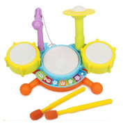 Icollect® Baby Kids Music Toy Mini Developmental Musical Drum Set for kids -1 set