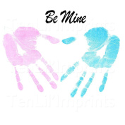 Daddy & Me Inkless Handprint and Footprint Kit