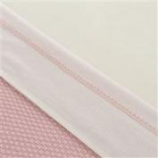 Little Naturals 008 524 64982 Sheet (120 x 150 cm, Crochet Small Pink