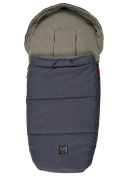 Kaiser Louis Thermo Fleece Footmuff Navy Mix