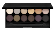 12 Colours Eyeshadow Palette With Mirror | Natural Tones by RIVENBERT