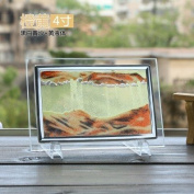 Decoration hourglass sand painting 3d landscape creative office desktop timer home decoration products Gift white