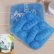 Titanic Mould Silicone Mould Ice Tools Chocolate Ice Mould Random Diy home