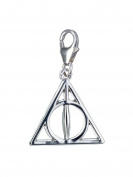Official Sterling Silver Harry Potter Jewellery Deathly Hallows Clip on Charm