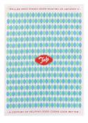 Tala Originals Leaf Pattern with Tea Towel, Blue & Green