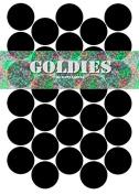 30 SMALL CIRCULAR RE-WRITABLE CHALKBOARD BLACKBOARD LABELS Herb & Spice Jar or Tupperware Stickers