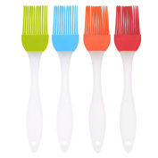 AIHOMETM Professional Kitchen Silicone baking cooking BBQ basting Brush basting pastry oil egg grill Plastic Handle