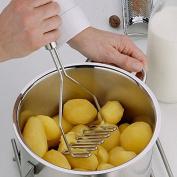 EQLEF® Heavy Duty Sturdy Stainless Steel Potato Masher Kitchen Gadgets