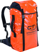 Climbing Technology Utility Backpack For Aid and Speleo-Orange, 40 Litres