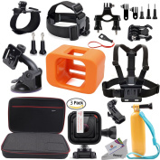 Deyard S-07 GoPro Accessories bundle for HERO5 Session HERO Session Camcorder