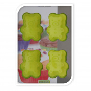 Blue Bear Silicone Mini Cupcake Muffin Cake Baking Tray Chocolate Jelly Mould
