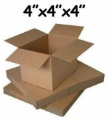 """10 x SMALL MAILING PACKING CARDBOARD BOXES 4x 10cm x 4"""" CUBE"""