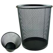 Lightweight and Sturdy Circular Mesh Waste Bin
