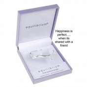Equilibrium Jewellery - Dangle Flower Friend Bangle
