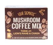 Four Sigma Foods - Mushroom Coffee - Lion`s Mane & Chaga - 10 Sachets