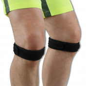 2 x NeoPhysio Pain Relieving Neoprene Patella Tendon Knee Strap - Neo310