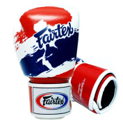 Fairtex Muay Thai Boxing Gloves BGV1 Limited Edition Thai Pride Size : 10 12 14 470ml Come with Elastic cotton Handwraps. Training sparring gloves for kick boxing MMA K1