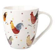 Alex Clark Fine China Rooster Mug, Multi-Colour