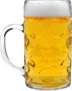 Rink Drink German Stein Beer Tankard / Glass - 2 Pints (1180ml) - Gift Boxed