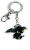 11cm How To Train Your Dragon 2 Toothless Night Fury Cute Keychain Keyrings