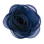 Merdia Women's Lovely Silk Flower Hair Clip Rose Brooches [Jewellery]