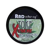 Toke Xtreme Hemp & Borage Oil Body Creme by RAD Soap Co. 120ml