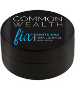 Common Wealth Fix Matte Wax Hair Pomade With Cashew Oil Fibre Hold Paste Gel Moulding Shaping Styling Cream Hold For Men