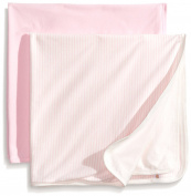 Rosie Pope Baby-Girls Newborn 2-Pack Blanket
