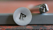 Supply Guy 5mm Horse Head Metal Punch Design Stamp A-59