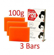 Kojie San Skin Lightening Kojic Acid Soap 3 Bars - 100g