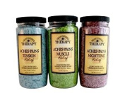 Village Naturals Therapy Aches and Pains Concentrated Bath Soak Salts