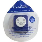Carl Craft Mini Craft Paper Punch, Cat