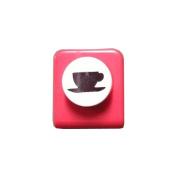 Carl Craft Mini Craft Paper Punch, Tea Time