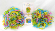 Set of 1 Large and 2 Medium Colourful Filler Tissue Wrap Swirls
