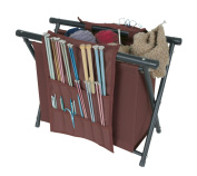 ArtBin Needle Arts Caddy-Merlot Yarn Storage 6933AM