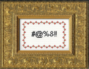 "Subversive Cross Stitch ""Curses"" Deluxe Kit"