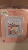 """From the Heart Stamped Cross Stitch """"Seagull Bay"""""""