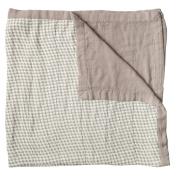 Little Unicorn Deluxe Muslin Quilt Blanket - Houndstooth