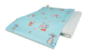 4-season Cotton Flower Toddler Blanket (Quilt + Duvet Cover)