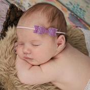 Corcrest(TM)Newborn Baby Girls Flower Headbands Korean Bowknot Baby Hairband GirlsHair Accessories 9 Colours Princess Hair Bow Diademas Pelo