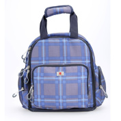 Cyanb Nappy Backpack , Blue Checker